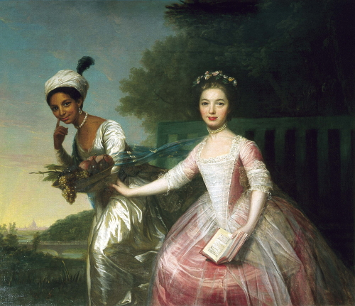 "Portrait of Dido Elizabeth Belle and Lady Elizabeth Murray. In Christine Kenyon Jones, ""Ambiguous Cousinship: Mansfield Park and the Mansfield Family."" Persuasions Online 31, no. 1 (Winter 2010)."