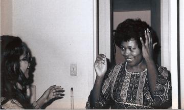Sandra Nuñez and Mae Johnson, Chicago, 1980s