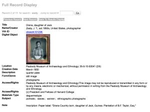 Daguerreotypes at Harvard