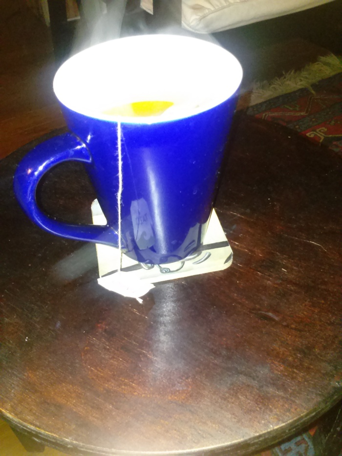 Steamy tea on a cold NOLA day. Taken 2015 February 24 by Jessica Marie Johnson