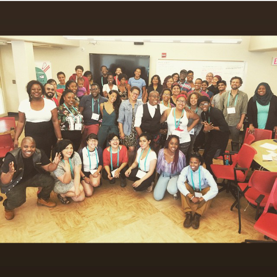 Squad. Dismantling the Ivory Tower Network Gathering. Snapped (by Kai Green) June 18, 2015, Detroit, MI, #AMC2015