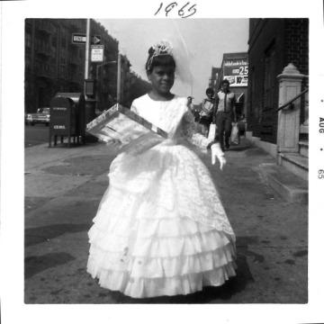 Nunez Mom as a flower girl. 1965. Bronx, NY.