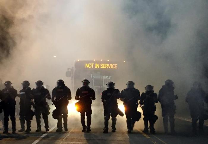 Charlotte Police | September 20, 2016. Photo: AFP