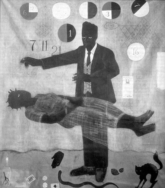 When Frustration Threatens Desire (1990) Kerry James Marshall